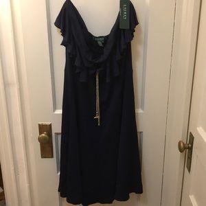 NWT Ralph Lauren Stunning Strapless Dress